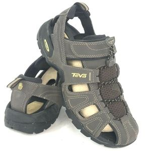 Teva Mens Size 8 Forebay Fisherman Hiking Sandals